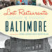 Baltimore's Vintage Victuals